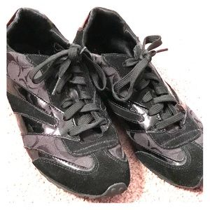 Coach black Tennis Shoes